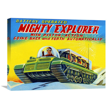 Mighty Explorer + Piston Action