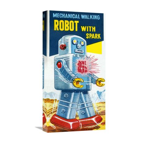 Mechanical Walking Robot + Spark