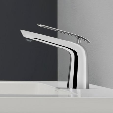 seda single lever basin bathroom faucet chrome - Kraus Faucets