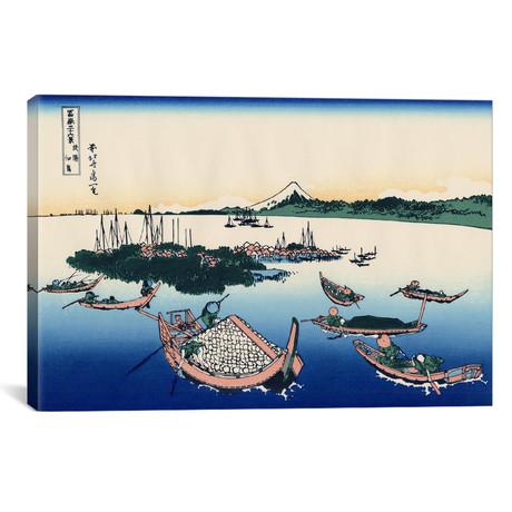 "Tsukada Island In The Musashi Province (18""W x 12""H x 0.75""D)"