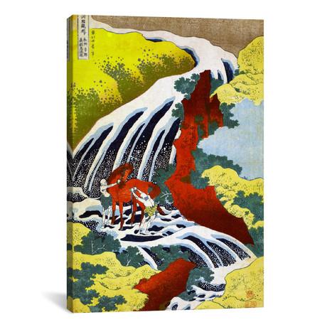"""Yoshitsune Falls (12""""W x 18""""H x 0.75""""D)"""