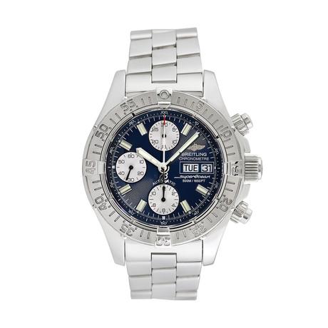 Breitling Superocean Chronometre Automatic // A13340 // 763-TM10339 // c.2000's // Pre-Owned