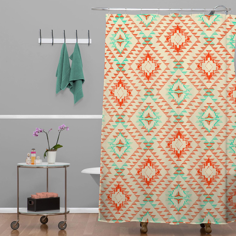 Tile Tribe Southwest Shower Curtain