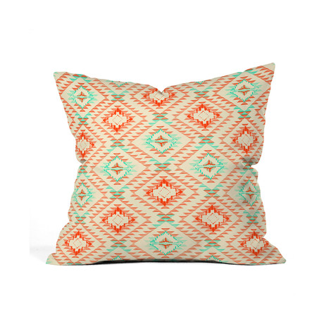 Modern Southwest Pillow : Tile Tribe Southwest Throw Pillow (18