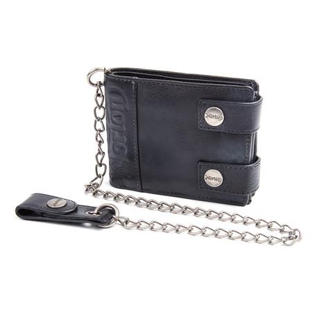 Biker Chain Wallet // Black