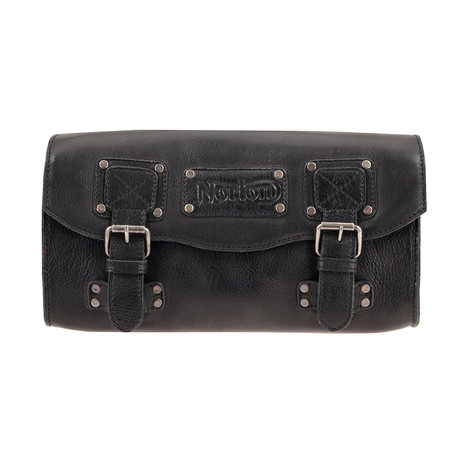 Leather Tool Roll // Black