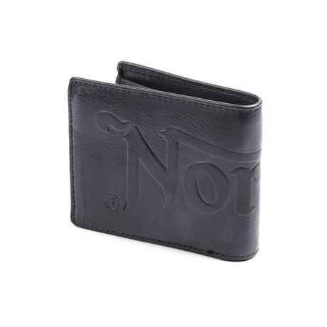 Debossed Wallet // Black