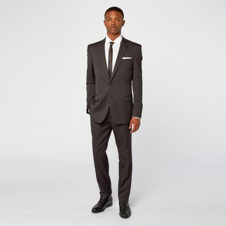 Tieri Pinstripe Suit // Charcoal
