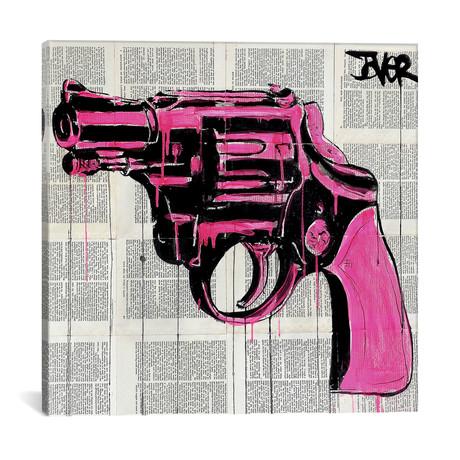 """Pop Gun (18""""W x 18""""H x 0.75""""D)"""