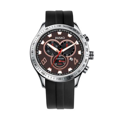 JIUSKO Speedmaster Tachymeter Chronograph Quartz // 85LS0702