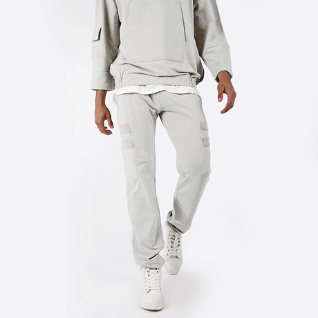 Cropped Lounge Jogger // Grey