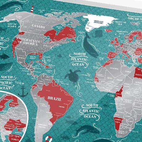 World Travel Map // Marine World