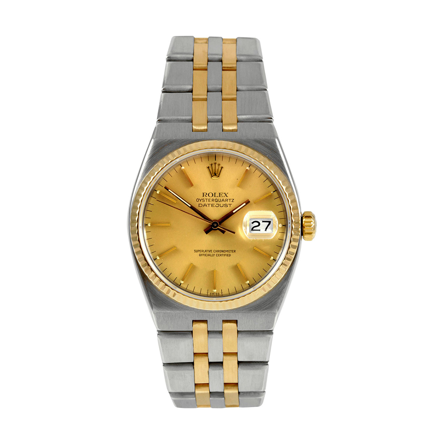 Rolex oyster quartz 17013 pre owned vintage rolex touch of modern for Vintage rolex oyster