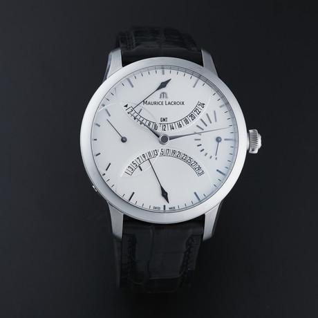 Maurice LaCroix Masterpiece Retrograde Automatic // MP6518-SS001-130 (White)