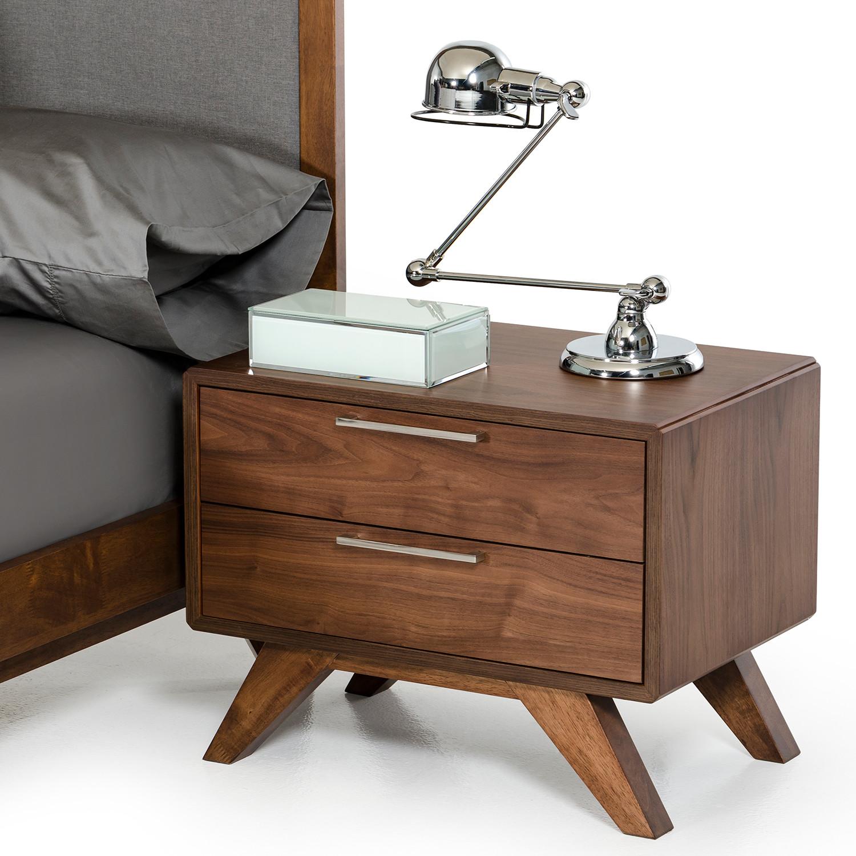 Nova Domus Soria Modern Grey Walnut Bedroom Set (Eastern King ...
