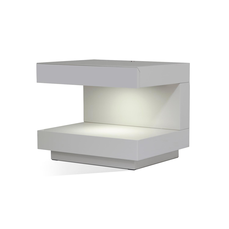 modrest esso modern nightstand  vig furniture  touch of modern - modrest esso modern nightstand