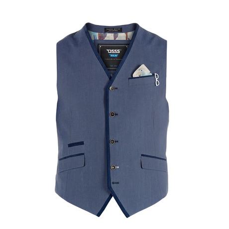 Caesar Wasitcoat // Light Blue