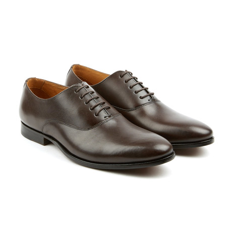 Deuce Leather Plain Toe Oxford Brown Us 8 Pair Of Kings