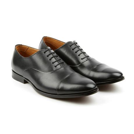 Leather Oxfords // Black (US: 7)
