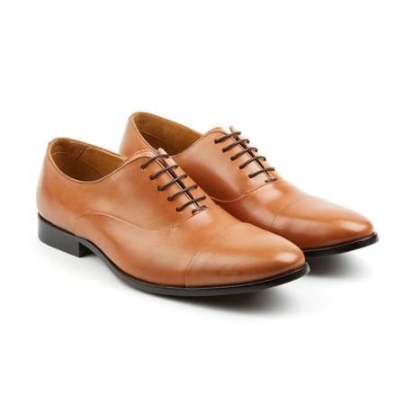 Leather Oxfords // Cognac (US: 7)
