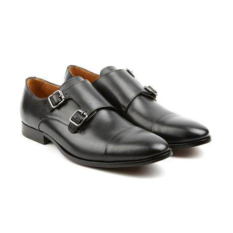 The Jack Monk Strap Dress Shoes // Black (US: 7)