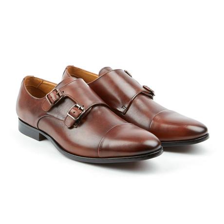 The Jack Monk Strap Dress Shoes // Brandy (US: 7)
