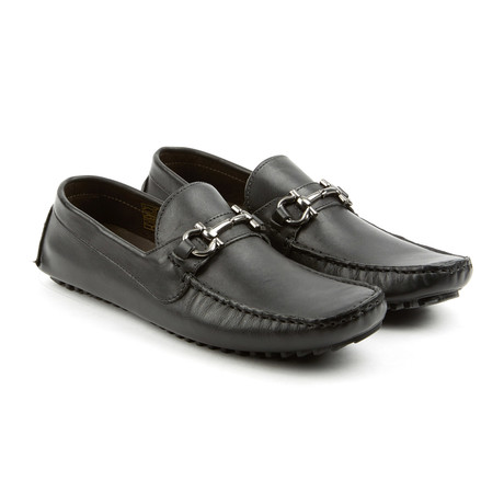 Top Kicker Leather Moccasins // Black (US: 7)