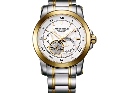 Photo of Aries Gold Sophisticated Men's Watches  Aries Gold Forza 9001 Automatic // G_9001_2TG-W by Touch Of Modern
