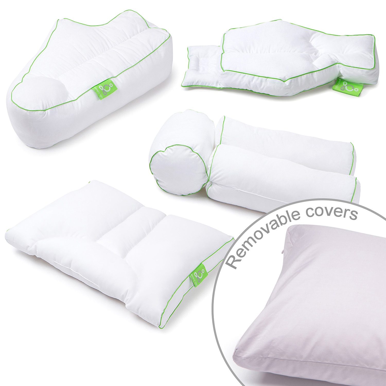 Sleep Yoga Posture Pillow Collection Set Of 4 Pillow