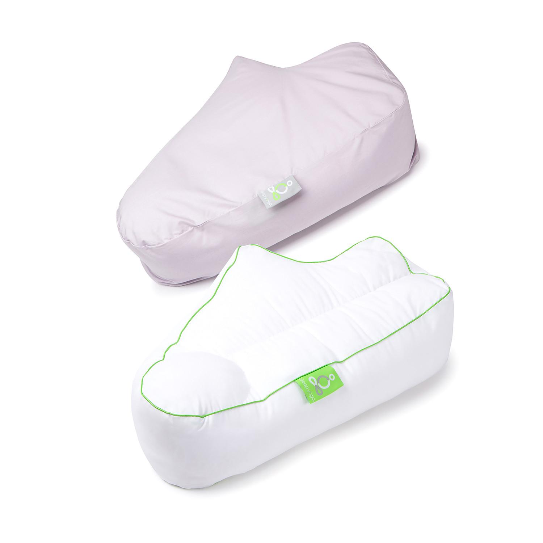 Sleep Yoga Side Sleeper Arm Rest Pillow Cover Lavender