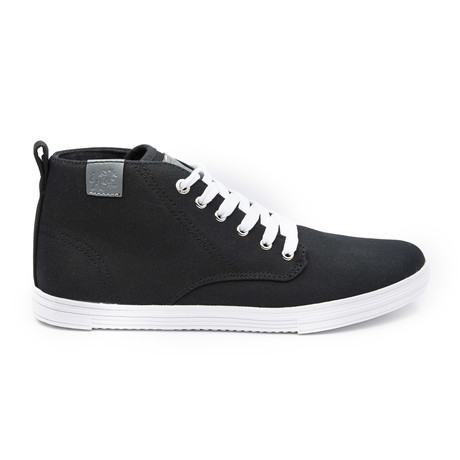 Leon Sneaker // Black + White (US: 7)