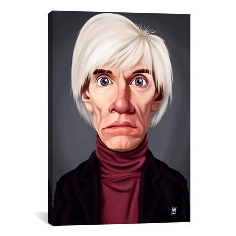 "Andy Warhol // Rob Snow (18""W x 26""H x 0.75""D)"