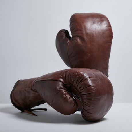 heritage boxing gloves modest vintage player touch of. Black Bedroom Furniture Sets. Home Design Ideas