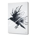 "Raven // Stretched Canvas (16""W x 24""H x 1.5""D)"