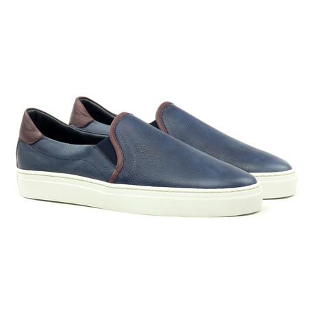 Slip-on Sneaker // Navy