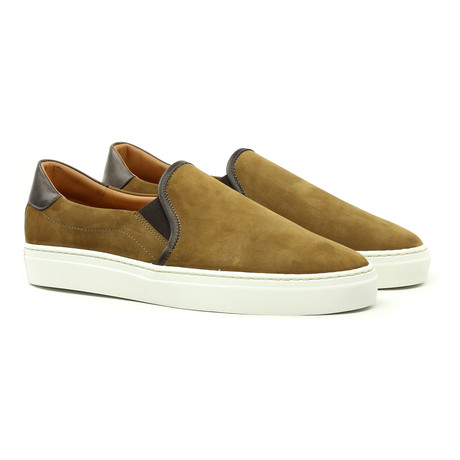 Rooster League // Slip-on Sneaker // Camel (Euro: 39)