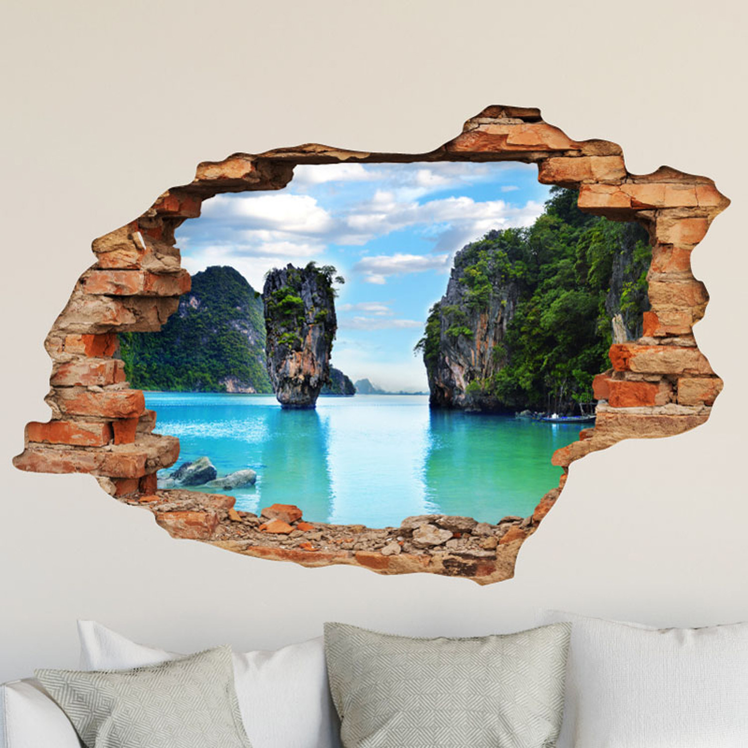 Animal Wall Sticker Khao Phing Kan Thailand Ambiance Live Touch Of Modern