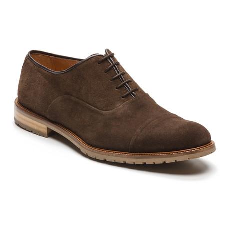 Santerio Suede Dress Shoe // Brown