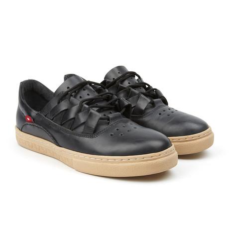 Dakugo Woven Sneaker // Black Grey