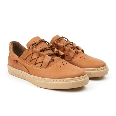 Dakugo Woven Sneaker // Rustic Brown