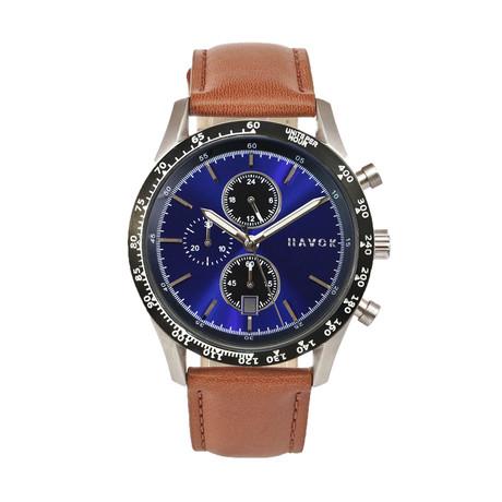 Havok Racer Chronograph Quartz // Blue