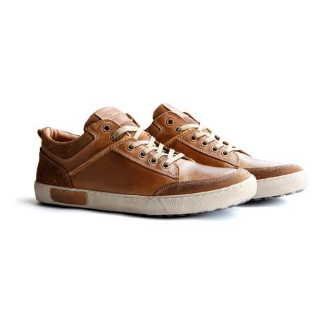 Aberdeen Low-Top Sneaker // Cognac