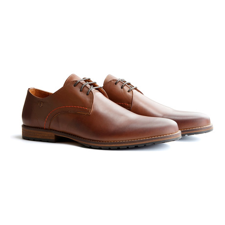 Manchester Leather Shoe // Dark Brown (EUR: 40)