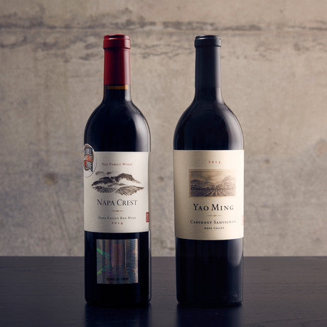 2014 Yao Ming Commemorative Napa Crest Red Blend 2013