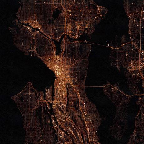 Seattle, WA at Night