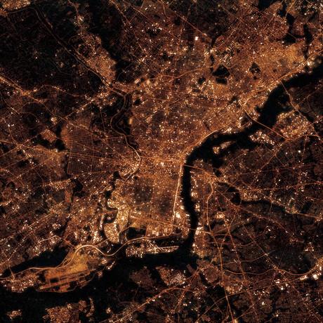 Philadelphia, PA at Night
