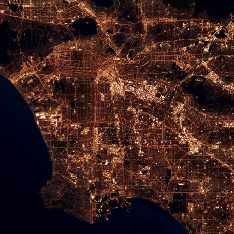 Los Angeles, CA at Night