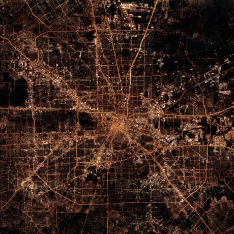 Houston, TX at Night
