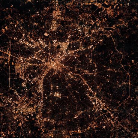 Charlotte, North Carolina at Night