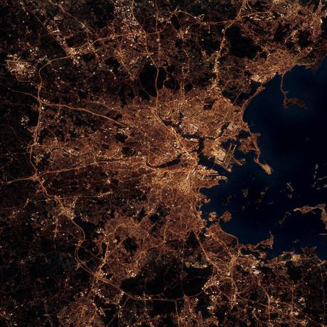 Boston, MA at Night